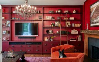 Идеи украшения стены вокруг телевизора