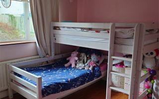 Практичность иразнообразие L-образных двухъярусных кроватей