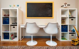 Два стола вдетской комнате: фотоподборка