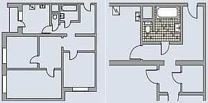 КОПЭ (трехкомнатная квартира)