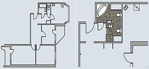 П-44 Т (трехкомнатная квартира)
