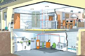 При выборе системы отопления загородного дома возникает два главных вопроса: какие предполагается задействовать энергоресурсы и для каких целей планируется осуществить обогрев - постоянного проживания или частичного?